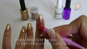 nailsupply nail foil passo a passo youtube
