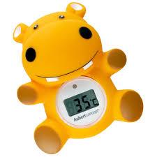 thermomètre chambre bébé thermomètre de bain hippo orange de aubert concept thermomètres