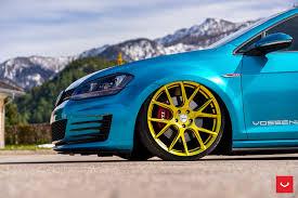 volkswagen gti custom volkswagen gti mk7 vfs 6 custom gold vossen wheels 2016