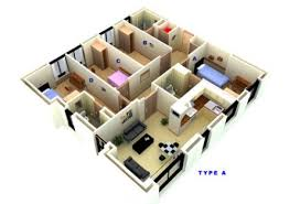 four bedroom four bedroom apartment types