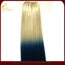 Color Hair Extension by Double Drawn 100 Human Hair Straight Wave Ombre Wave Mix Color