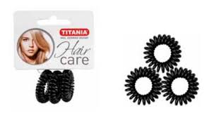 hair bobble titania hair bobble bands 3pcs 2 5cm black