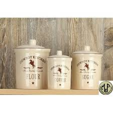 western kitchen canisters m western canister set cowboy kitchen western southwestern