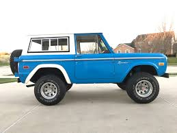 bronco car 2016 1975 ford bronco maxlider brothers customs