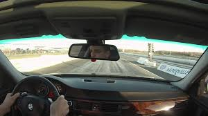 bmw n54 335xi vs ford mustang 1 4 mile drag race youtube