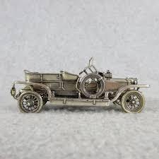 replica rolls royce 1907 rolls royce world famous sterling silver vintage car replica