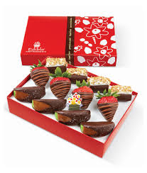 eligible arrangements win it the autumn harvest dipped fruit trio box from edible