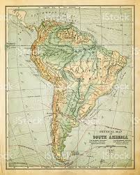 Old Map Old Map Of South America Stock Vector Art 184925630 Istock