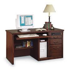 Pedestal Computer Desk Kathy Ireland Home By Martin Ho540 Huntington Oxford Single