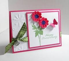 anniversary greeting cards how to make handmade greeting cards for anniversary