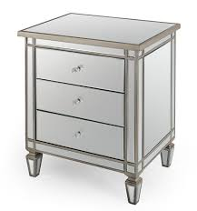 Accent Table Canada Drawer Mirrored Nightstand Accent Table Best Mirrored Nightstand