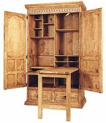 Computer Cupboard Desk Computer Station On Pinterest Computer Armoire Armoires And