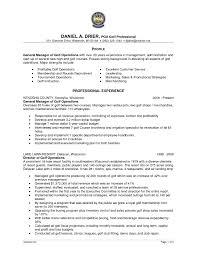 General Manager Sample Resume sample resume general manager hospitality virtren com