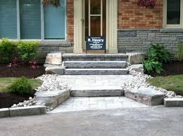 Front Entrance Landscaping Ideas Garden Design Garden Design With Peale Park Ridge Landscaping A