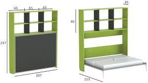 lit armoire bureau bureau escamotable mural simple trendy lite armoire lit bureau
