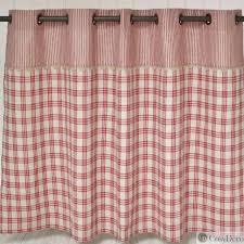 rideau sous evier cuisine rideau sous evier de cuisine décoration ambiance bistrot chez cosydéco