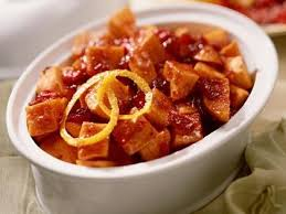 cranberry glazed sweet potatoes recipe myrecipes