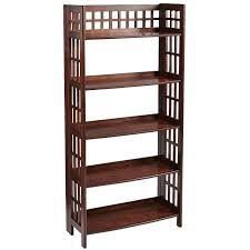 fretted tuscan brown tall folding shelf pier 1 imports