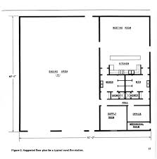 volunteer fire station floor plans rural fire station design 1977 legeros fire blog archives 2006 2015