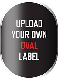 oval labels with necker grogtag