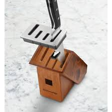 self sharpening kitchen knives calphalon classic self sharpening 6 knife block