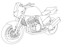 motorcycle coloring pages wecoloringpage