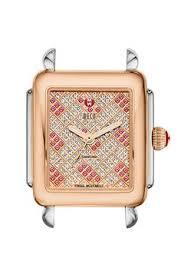deco 16 two tone 18 overstock iwc da vinci timepiece features an 18 karat