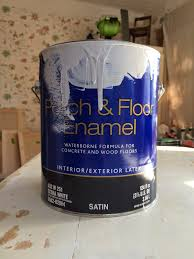 Floor Dry by Sherwin Williams Porch And Floor Enamel Msds