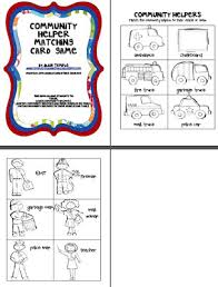 all worksheets matching community helpers worksheets free