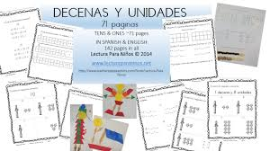 mommy maestra free spanish place value math pack from lectura