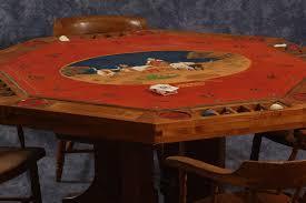 Custom Poker Tables Adobe Western Art Gallery