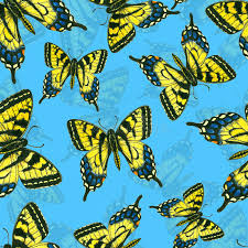 watercolor butterfly pattern stock illustration illustration of
