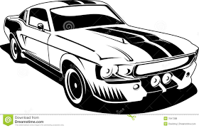 old cars black and white black and white ford mustang royalty free stock photos image