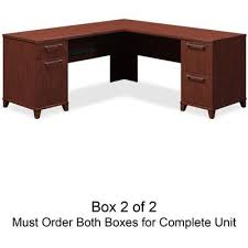 72 inch desk with drawers amazon com bush l shaped desk 72 inch by 72 inch by 30 inch