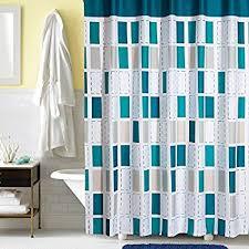 Turquoise Shower Curtains Ufaitheart 72 X 75 Fabric Bathroom Shower Curtain