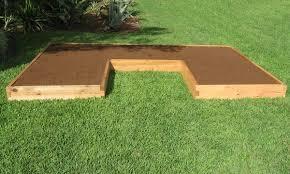 Cedar Raised Garden Bed 2x4 Cedar Raised Garden Bed Gardeninminutes Com