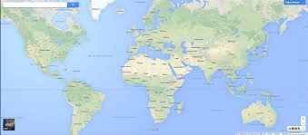 Google Map Of Europe by Google Map Of The World Roundtripticket Me