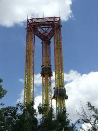 Dallas Texas Six Flags Six Flags Fiesta Texas Scream Mapio Net