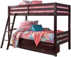 Bunk Beds Birmingham Signature Design By Halanton Solid Pine Bunk Bed