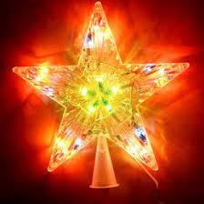 Lighted Star Christmas Tree Topper Lighted Star Tree Topper Online Lighted Star Christmas Tree