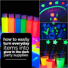 glow in the party supplies 15 awesome glow in the birthday party ideas spaceships and