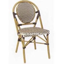 Rattan Bistro Chairs Import Bamboo Looking Rattan Cafe Dining Chair From China Bamboo