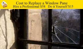 cost to replace a window pane youtube