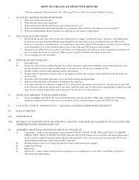 Successful Resumes Examples Effective Resume Formats Resume Samples
