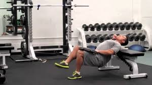 1 leg hip lift off bench with weight youtube