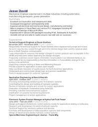 Show Me A Sample Resume by Aerospace Engineering Resume Contegri Com
