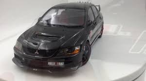 mitsubishi lancer 2017 black agu model mitsubishi lancer evo ix resin scale 1 18 in black