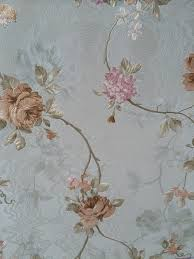 classic country style fllower pvc heavy deep embossed wallpapers