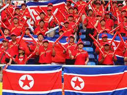 Cheerleader Flags Nordkorea Schickt Cheerleader Zu Olympia