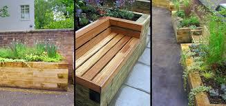 raised sleeper garden beds u2013 craftbnb